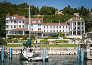Mackinac Island S Oldest Hotel House Offers Sweeping Harbor Views And A Full Complement Of Amenities As Historic America State